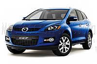 """Mazda CX-7 - замена галогенных линз на би-ксеноновые Moonlight EVO-2 G5 2,5"""" H1 и гибких ходовых огней FLEX"""