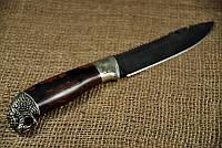 """Охотничий нож ручной работы """"Гюрза"""", дамасск (наличие уточняйте)"""