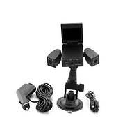 Видеорегистратор автомобильный DVR H3000 2 камеры