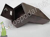 Ящик для почты сквозной через забор