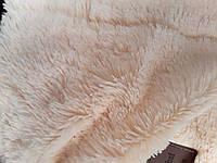 Покрывало на полуторную кровать меховое 160х200 травка