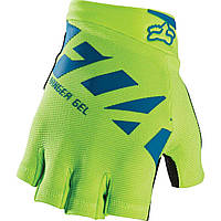Вело перчатки без пальцев Fox Ranger Gel желтый, L (10)
