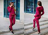 Женский качественный замшевый костюм: замшевая курка-косуха и брюки (6 цветов), фото 6