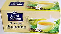 Чай с жасмином зеленый Lord Nelson Green Tea Jasmine 25 пакетов.