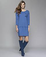Zaps осінь-зима 2017-2018 плаття LOLITA 025 синій