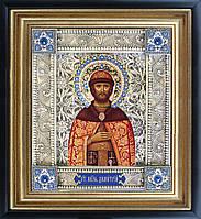 Святой Дмитрий скань икона