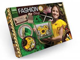 Набор для творчества Вышивка сумки (подсолнух) в стиле мулине Fashion Bag