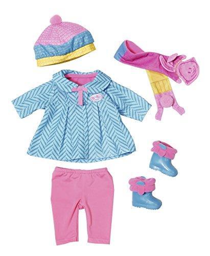 Одежда куклы Беби Борн Baby Born комплект на осень Делюкс Deluxe Zapf Creation 823828