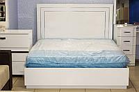 Кровать с подъемным механизмом белая, фото 1