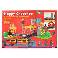 Железная дорога-конструктор «Happy Choo-Choo» 9166