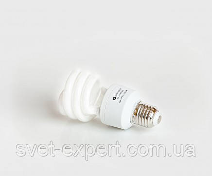 Энергосберегающая  лампа КЛЛ  FS-20-4200-27 20W 4200K E27 220V , фото 2