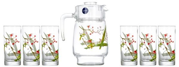 Набор питьевой Beatitude 7 предметов Luminarc N3564