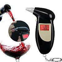 Алкотестер цифровий драгер + 5 мундштуків Digital Breath Alcohol Tester
