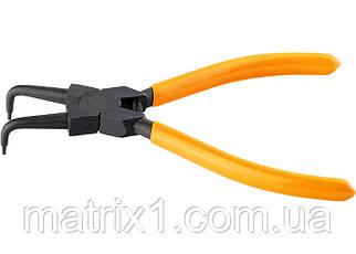 Съемник, 150 мм, для внутренних стопорных колец, изогнутые губки (сжим)// SPARTA