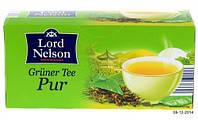 Чай зеленый классический Lord Nelson Green Tea Natural 25 пакетов.