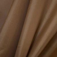 Тюль шифон однотонный коричневый