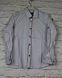 Рубашка для мальчиков с длинным рукавом на 7-12 лет, фото 3