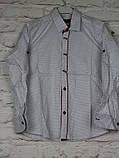 Рубашка для мальчиков с длинным рукавом на 7-12 лет, фото 4