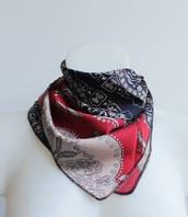 :Платки:Шелк+Полиэстер:Женский шейный платок, арт. 570_6
