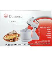 Миксер c чашей Domotec DT-1003