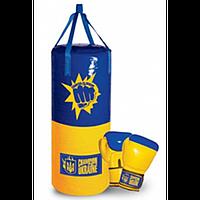 Набор боксерский средний, детский, в украинском стиле
