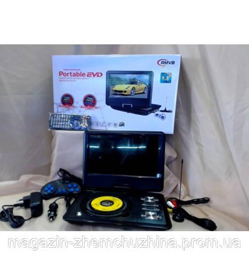 """PDVD 9.8"""" TV_FM_COPI_DVD-ROM_TXT_Photo_3D"""