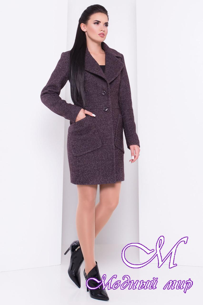 Женское пальто осень (р. S, M, L) арт. Габриэлла шерсть №9 - 16808