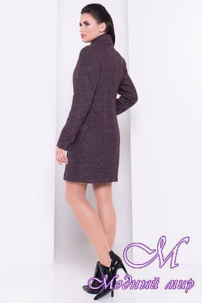 Женское пальто осень (р. S, M, L) арт. Габриэлла шерсть №9 - 16808, фото 2