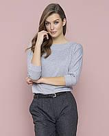 Zaps осінь-зима 2017-2018 блузка MIRASOL 022 сірий