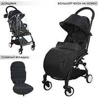 Прогулочная коляска Baby YOGA (АНАЛОГ Yoya) M 3548--2, черная