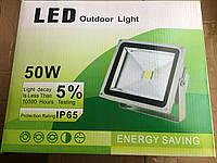 COB Светодиодный прожектор,50W,  28,5*23,5*14,5cm,2210g