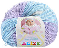 Пряжа для ручного вязания Alize Baby Wool Batik Продажа упаковками!
