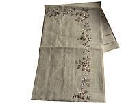 Скатерть с вышивкой на раскладной стол 150-220 см