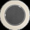 Решітка для каміна кругла бежева, графітовий, чорний, мідний, чорно золота, срібна Ø 125