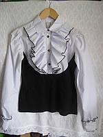 """Для девочки блузка """"Рюшики""""рост146-152-158-164 Польша"""