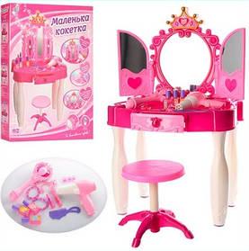 Трюмо для девочки 661-20 на Р/У и с MP3. С волшебной палочкой, которая открывает створки зеркала