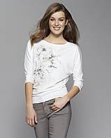 Zaps осінь-зима 2017-2018 блузка NEO 006 молочний