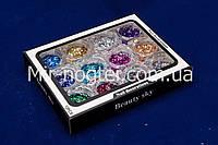 Набор мини шестигранников для дизайна ногтей, фото 1