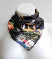 :Платки:Шелк+Полиэстер:Стильный платочек на шею, арт. 570_7