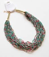 :Бижутерия:Красивое ожерелье из бисера, арт. AL-10612_mix