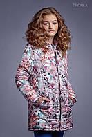 Куртка для девочки Розовые розы