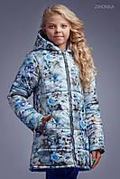 Куртка для девочки Роза на снегу