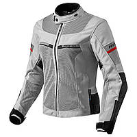 """Куртка REV'IT TORNADO 2 LADIES текстиль silver\black """"36"""", арт. FJT207 4050"""