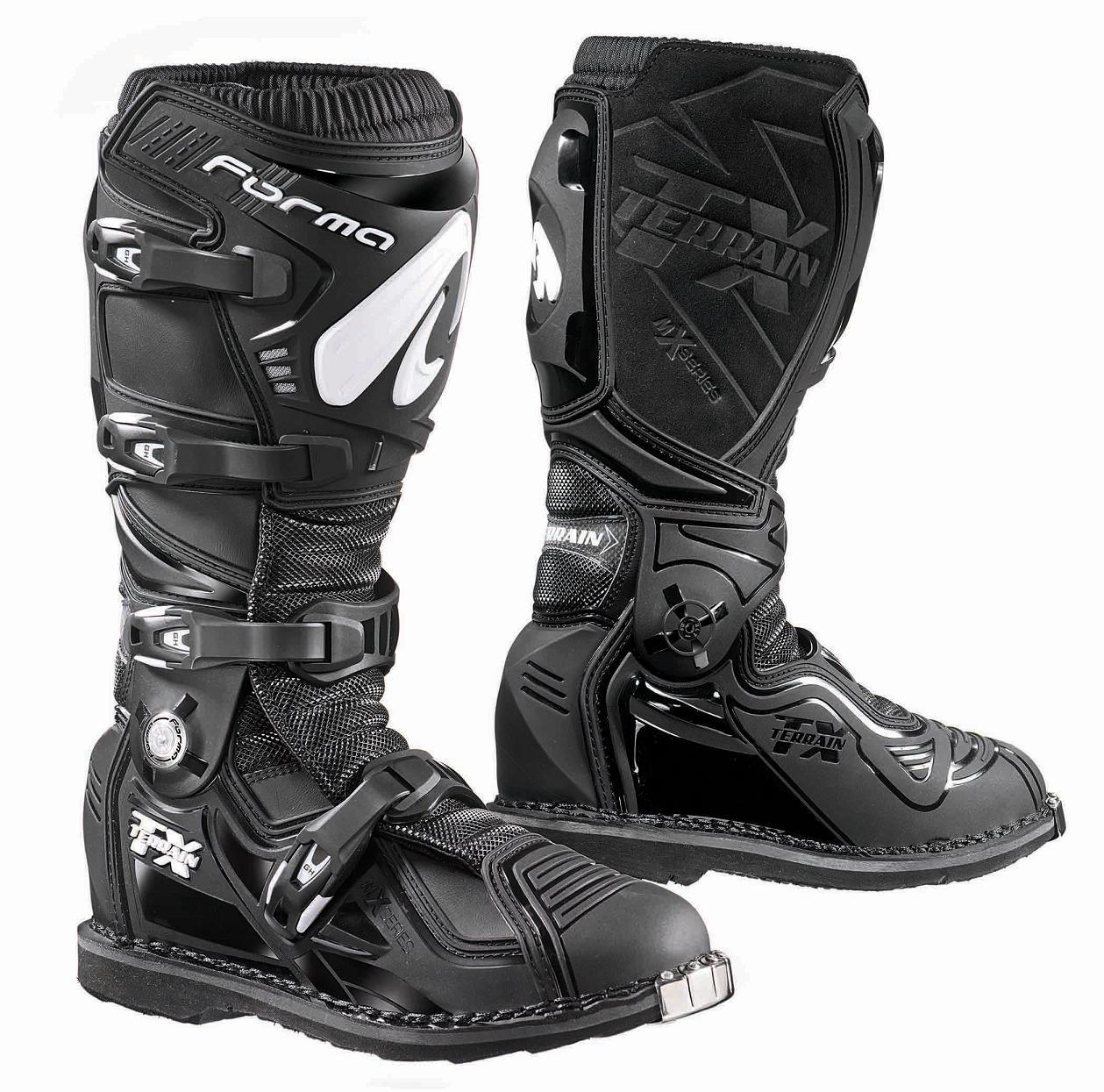 Мотоботы кроссовые Forma Terrain TX черные, 46