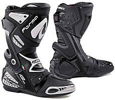Мотоботинки спортивные с перфорацией Forma Ice Pro Flow черные, 47