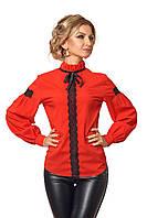 Красивая блузка с широким рукавом 42-52 размера