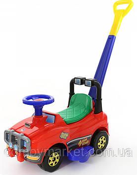 Автомобиль каталка Джип с ручкой 3378