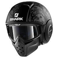 Мотошлем Shark Drak Sanctus черный серый мат, L