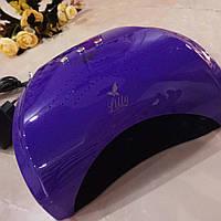 Sun уф/лед Лампа для наращивания ногтей 10,30,60сек и 3мин, 36вт, сенсор,  фиолетовая