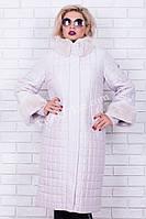 Пальто пуховик с мехом Snow beauty №1130, фото 1